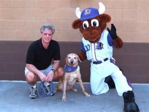 Gene, Lucky The WonderDog and Wool E. Bull